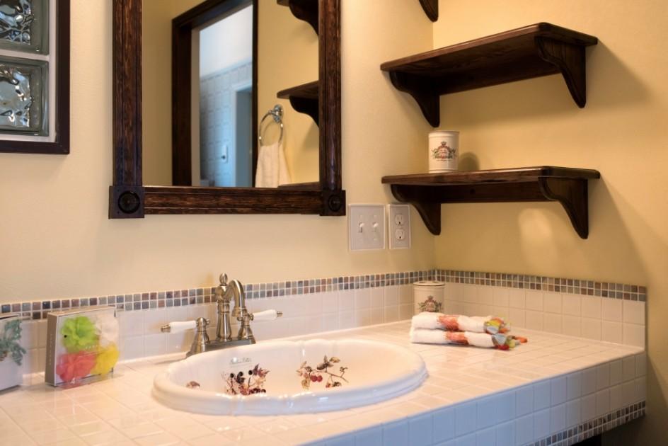輸入住宅アメリカン洗面化粧台